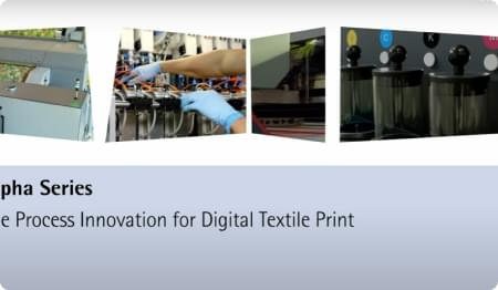 The Process Innovation for Digital Textile Print