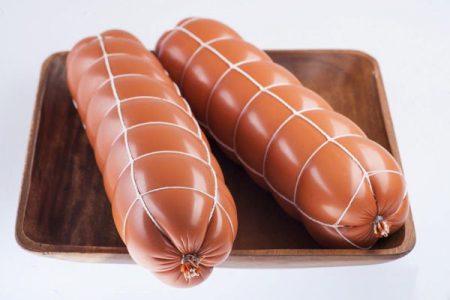 Полиамидная оболочка для вареных колбас в сетке Слава-Люкс тип R