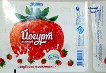 Этикетка на молочные продукты