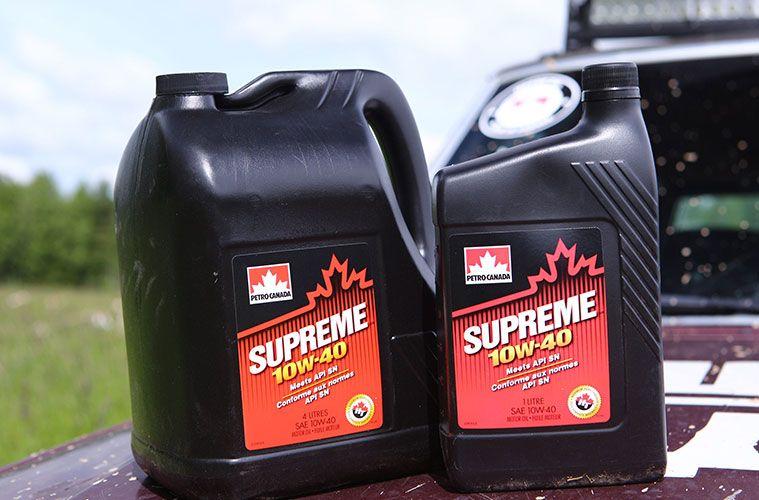 Этикетка на канистру моторного масла