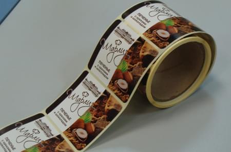Печать обертки для конфет и шоколада в рулонах
