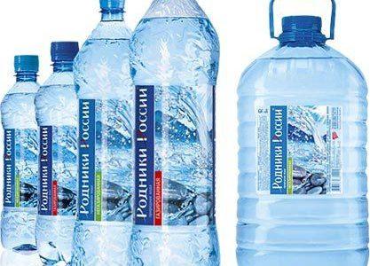 Этикетки на пластиковые бутылки