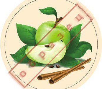 Стикер яблоко