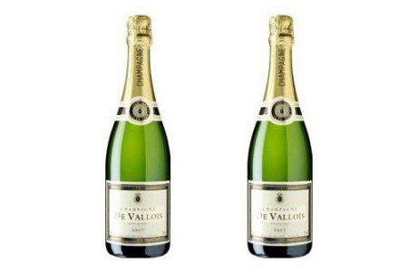 Этикетка на бутылку шампанского