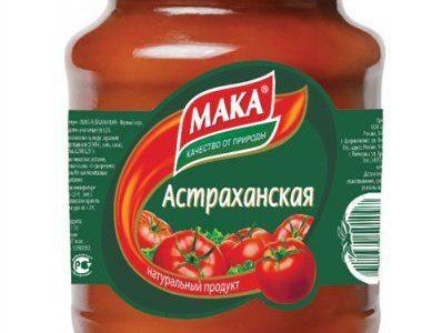 Этикетки на банки пасты томатной