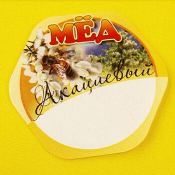 Этикетка на мёд акациевый
