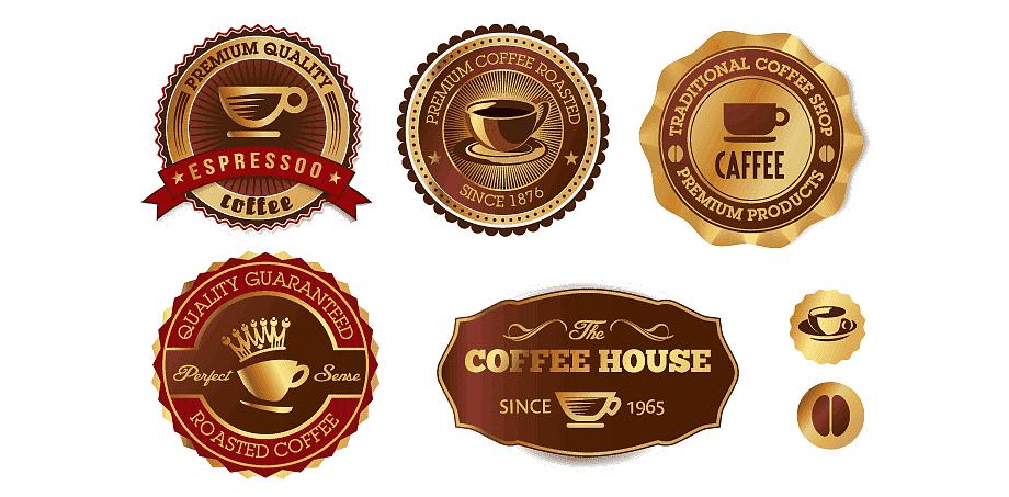 Этикетки на кофе